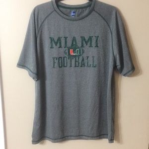 NCAA University of Miami Game Day Shirt Size XL